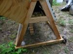 nesting box hatch opening